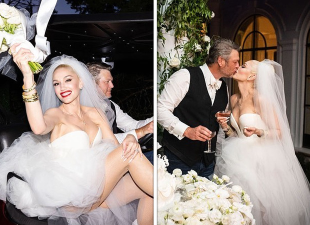 Gwen Stefani and Blake Shelton get hitched in private ceremony, check out their wedding pictures