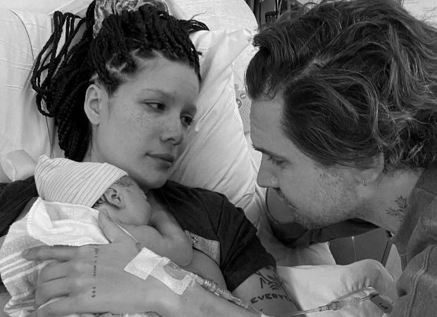 Halsey gives birth to first child, shares picture with boyfriend Alev Aydin and babyEnder Ridley Aydin