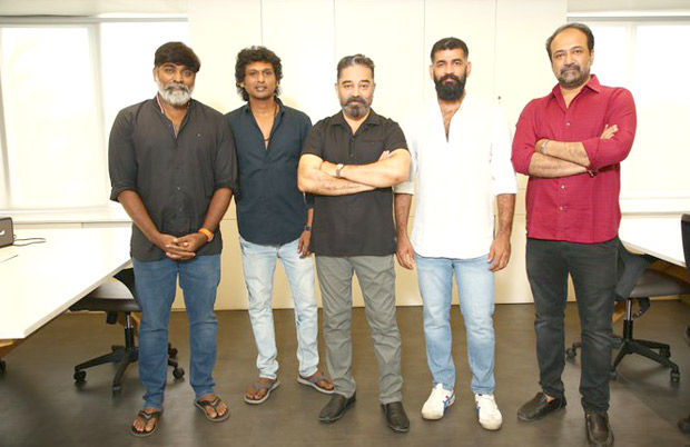 Kamal Haasan and Vijay Sethupathi begin shooting for Lokesh Kanagaraj's Vikram