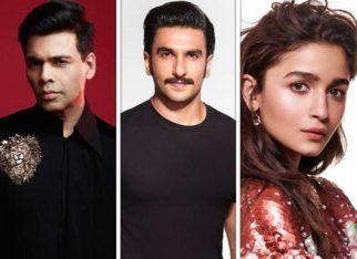 Karan Johar's next titled Rocky Aur Rani Ki Prem Kahani; Ranveer Singh to play Rocky, Alia Bhatt to play Rani