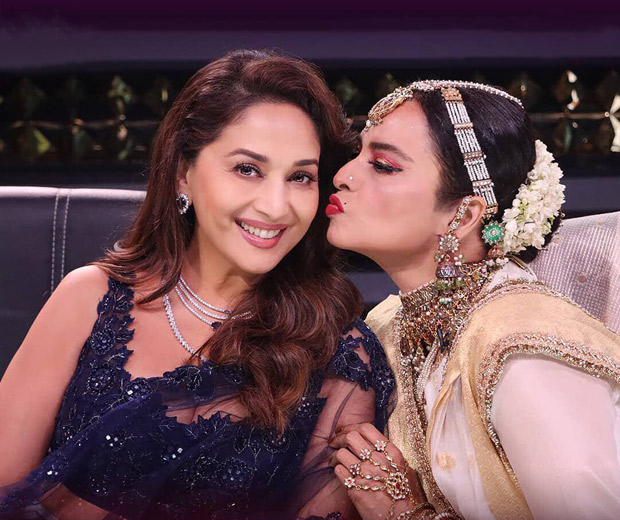Madhuri Dixit and Rekha recreate an iconic scene from Silsila on Dance Deewane 3