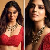 Malavika Mohanan looks pristine in red lehenga worth Rs. 2.25 lakh