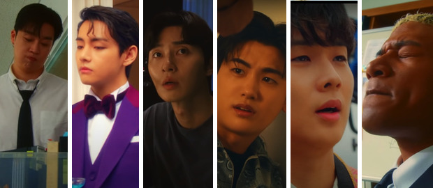 Peakboy releases impressive 'Gyopo Hair' music videofeaturing cameos from BTS' V, Park Seo Joon, Park Hyung Sik, Choi Woo Shik and Han Hyun Min