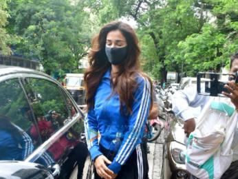 Photos: Disha Patani spotted at a salon