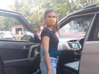 Photos: Fatima Sana Shaikh spotted in Bandra