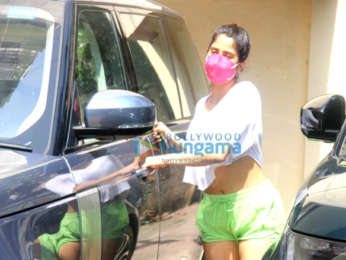 Photos: Janhvi Kapoor spotted at the gym