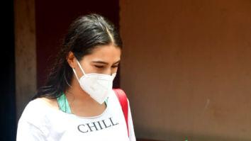 Photos: Sara Ali Khan and Janhvi Kapoor snapped at pilates studio