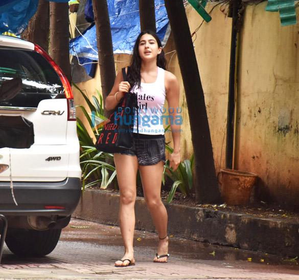 Photos: Sara Ali Khan spotted at Pilates class