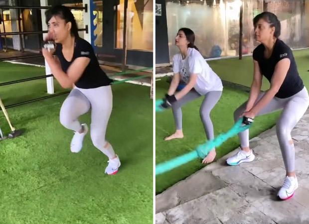 Shweta Tiwari's daughter Palak Tiwari turns her new workout buddy