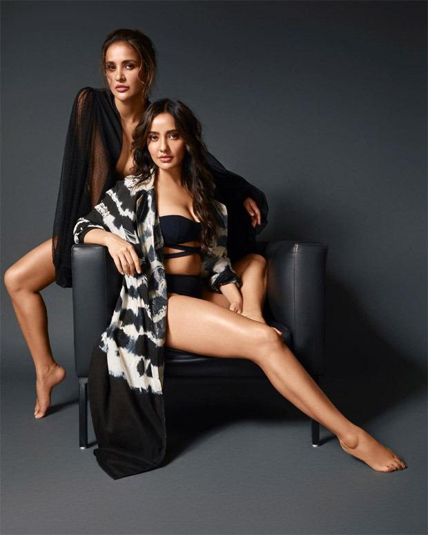 Sisters Neha Sharma and Aisha Sharma break the internet with their sensuous swimsuit post