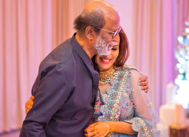 South superstar Rajinikanth is all set to become a grandfather, as daughter Soundarya is pregnant with businessman Vishakan's child