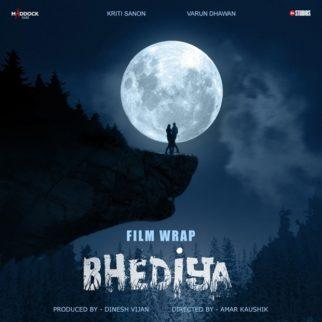 Varun Dhawan and Kriti Sanon wrap up the shoot of Bhediya, motion poster unveiled