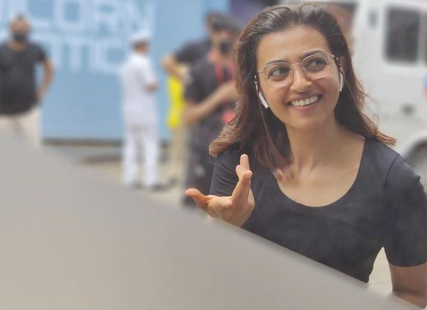 Radhika Apte is back on the film set and her latest picture on social media shows she's the happiest!