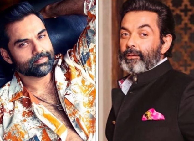 Bobby Deol shares a picture with cousin Abhay Deol in which the duo look similar and expressed desire to do a film with him