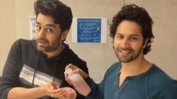 Varun Dhawan and Maniesh Paul offer sneak-peek into their filmy fun gearing up for Jug Jugg Jeeyo