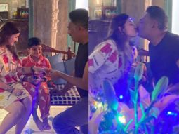 Prakash Raj and Pony Varma get married once again on their eleventh wedding anniversary for son Vedhant