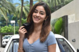 Ananya Panday spotted at T-Series office in Andheri