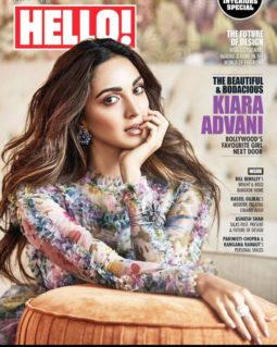 Kiara Advani On The Covers Of Hello!