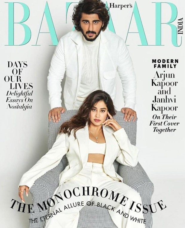 Janhvi Kapoor and Arjun Kapoor set modern family goals in coordinated outfits