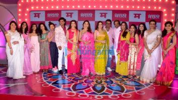 Photos: Madhuri Dixit snapped at Planet Marathi OTT launch