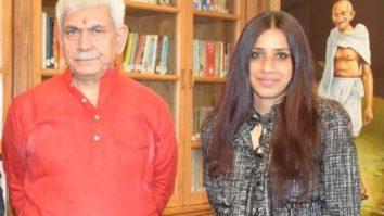 All set for Masaba Masaba 2, Ashvini Yardi meets Jammu & Kashmir's LG Manoj Sinha