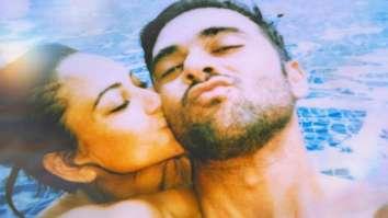 Kriti Kharbanda and Pulkit Samrat break the internet with their cozy swimming pool picture