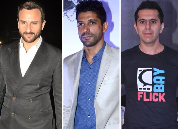Saif Ali Khan opens up about re-uniting with Farhan Akhtar and Ritesh Sidhwani for his upcoming film Fir