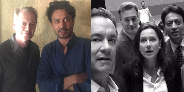 """Babil Khan shares behind-the-scenes photos of Irrfan Khan from the set of Tom Hanks' Inferno, saying, """"I have an insane legacy to live up to"""""""