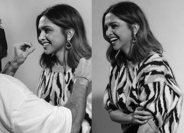 Deepika Padukone dons a fuzzy sweater and flashes her million dollar smile in latest picture