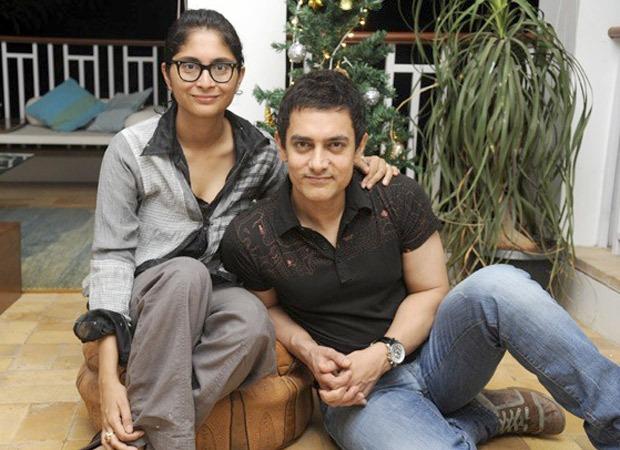 Following divorce announcement, Aamir Khan and Kiran Rao attend a friend's family wedding