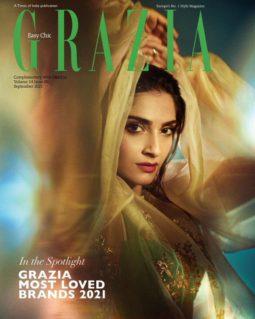 Sonam Kapoor Ahuja On The Covers Of Grazia