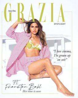 Pranutan Bahl On The Covers Of Grazia