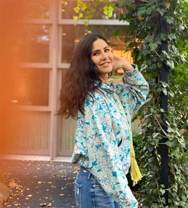 Katrina Kaif goes easy breezy in printed sweatshirt and denims in Turkey amidst Tiger 3 shoot
