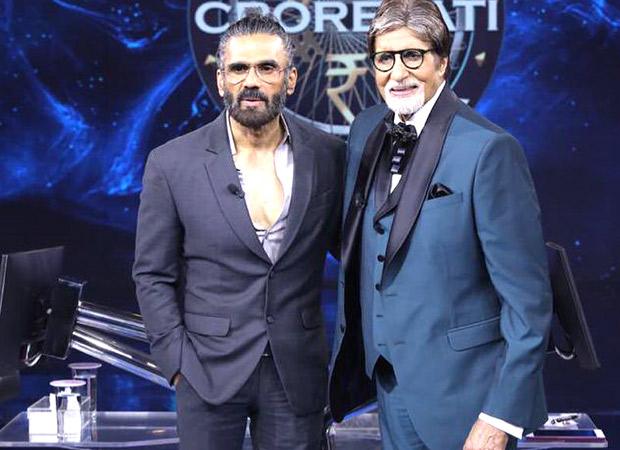 Kaun Banega Crorepati 13: Suniel Shetty flaunts his muscles along with Jackie Shroff, leaves host Amitabh Bachchan impressed