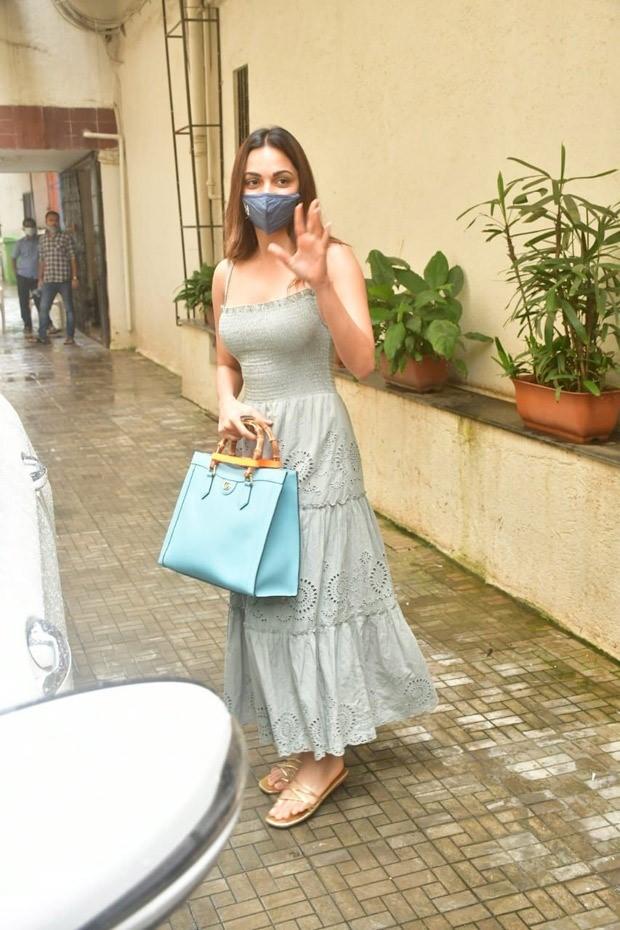 Kiara Advani sports a summer dress with a bag worth over Rs. 2 lakh