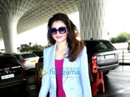 Photos: Urvashi Rautela and Tara Sutaria snapped at the airport