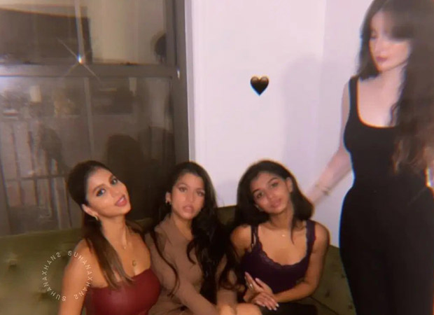 Shah Rukh Khan's daughter Suhana Khan looks stunning in red as she parties with friends in New York