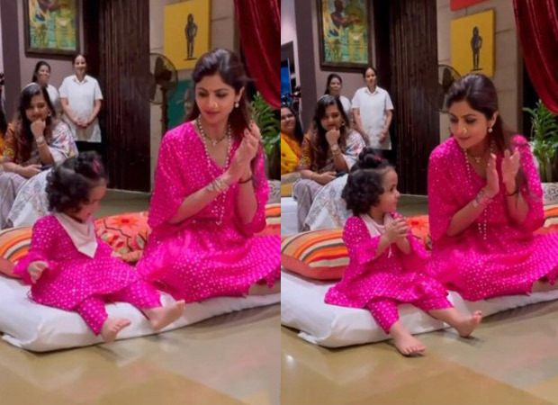 """Shilpa Shetty pledges to her daughter Samisha that they would be """"best friends forever"""" - watch the video"""