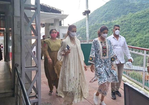 Shilpa Shetty visits Vaishno Devi as Mumbai Police files chargesheet against Raj Kundra