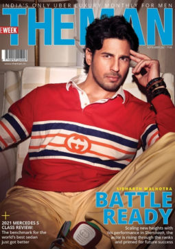 Sidharth Malhotra On The Cover Of The Man