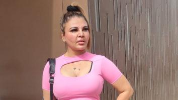 Spotted Rakhi Sawant at the Gym