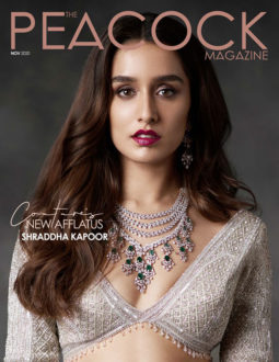 Shraddha Kapoor On The Covers Of The Peacock, Nov 2020