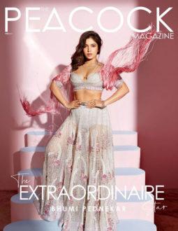 Bhumi Pednekar On The Cover Of The Peacock, Feb 2021