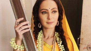 """""""Yellow Sari and Ektara defines Mira Bai,"""" says Lavina Tandon from Sony's Vighnaharta Ganesh"""