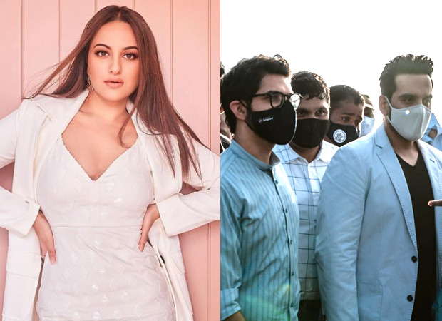 Sonakshi Sinha's House of Creativity collaborates with BMC for the beautification of Mahim beach