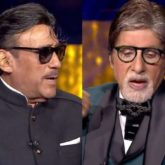 KBC 13: Jackie Shroff takes Amitabh Bachchan by surprise when he reveals that he is the inspiration behind his 'bhidu bhasha'
