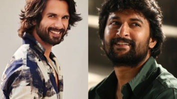 """""""He made me cry""""- Shahid Kapoor talks about Nani's performance in Jersey and how he inspired him"""
