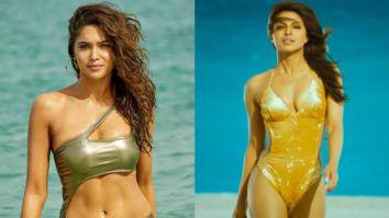 "Bunty Aur Babli 2: Sharvari Wagh - ""The image of Priyanka Chopra walking out of the sea in her golden bikini in Dostana was etched in my mind"""