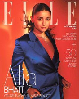 Alia Bhatt On The Cover Of Elle