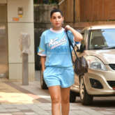 Photos: Nora Fatehi spotted outside a dance class in Khar